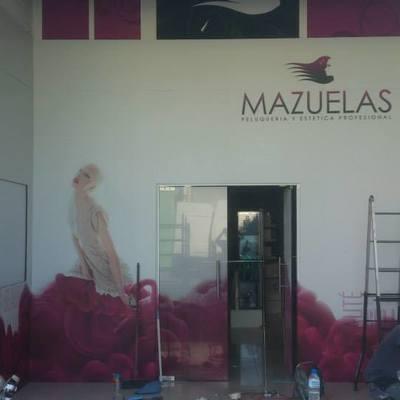 Montaje en mazuelas