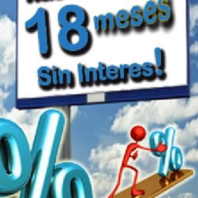 18 Meses sin Intereses