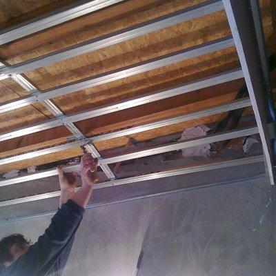 Trabajo instalación techo abovedado