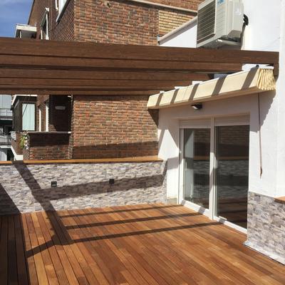 Reforma en terraza.