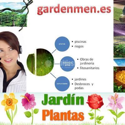 Jardineros, Podas, Riegos