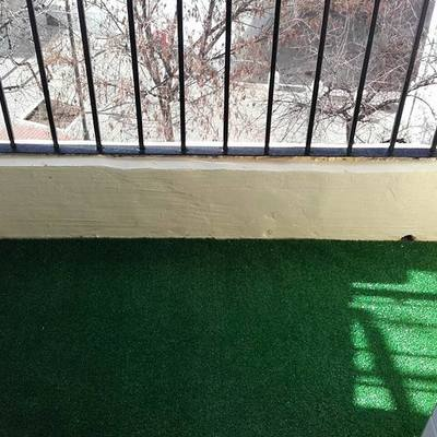 Quitar baldosas balcón y decorar