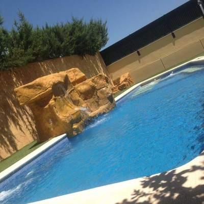 Tematización en piscina