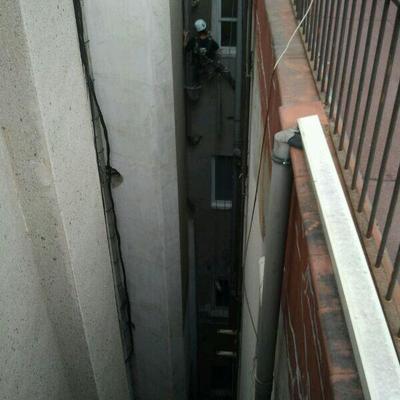 reparación de patios de luces