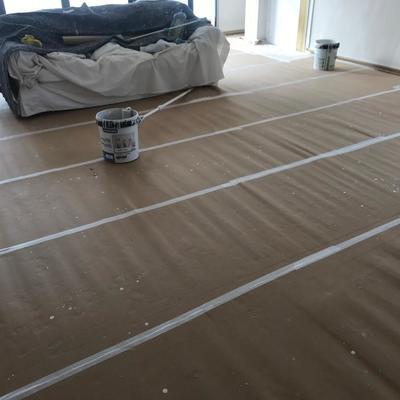 Preparado y pintado de vivienda