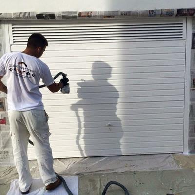 Pintura puerta garaje