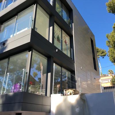 Construcción de Casa moderna