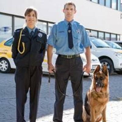 Protección con unidad canina