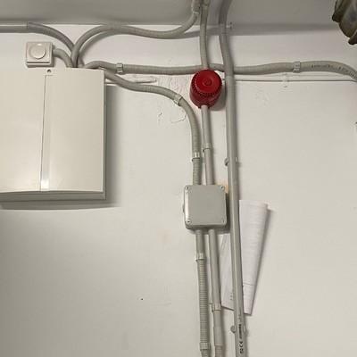 Sistema Cableado conexión central incendio
