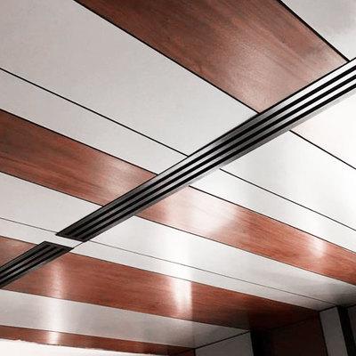 Forrado techos y encaje con instalaciones para un piso (Santo Domingo, República Dominicana)