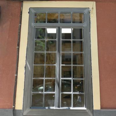 Puerta lacado transparente