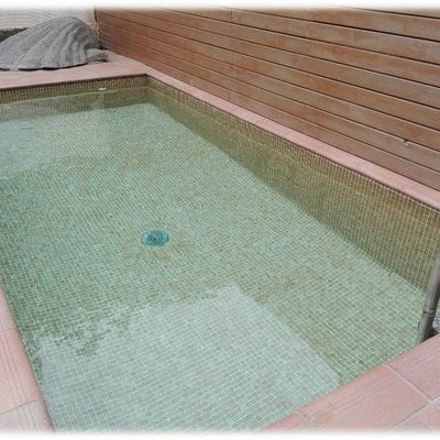 Mini piscina de 4x1,80