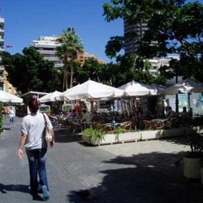 Terraza de verano en exterior zona Parque Santa Catalina - Gran Canaria