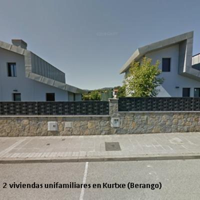 2 VIVIENDAS UNIFAMILIARES EN KURTXE (BERANGO)
