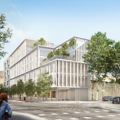 Edificio de oficinas en Pere IV, Barcelona