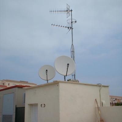 Sistema captación antena comunitaria