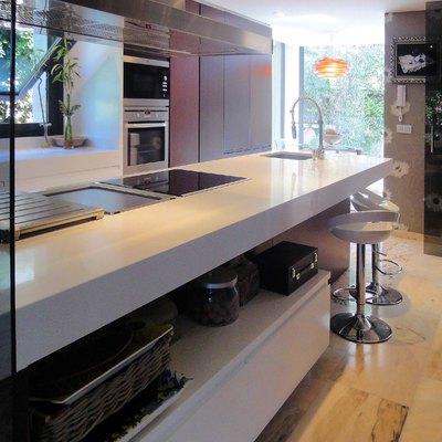 Cocina en open space