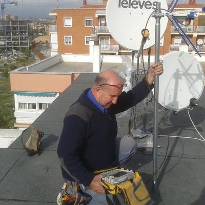 Orientación de antena.