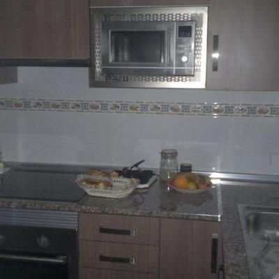 cocina amueblada