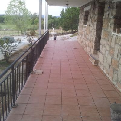 Forjado de hormigón terraza San Agustín de Guadalix