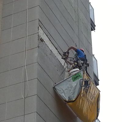 Reparación paños de monocapa