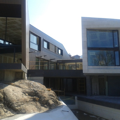 Revestimiento fachadas