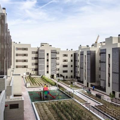 Edificio de viviendas protegidas en Getafe