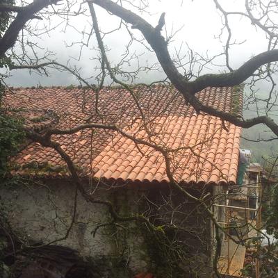 Rehabilitación cubierta teja árabe Eibar
