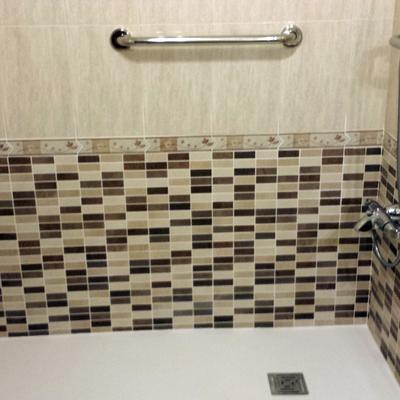 Sustitución de bañera por plato de ducha.