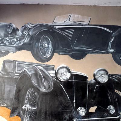 Decoración Garaje