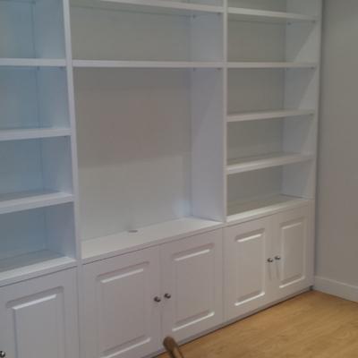 Biblioteca Lacado blanco