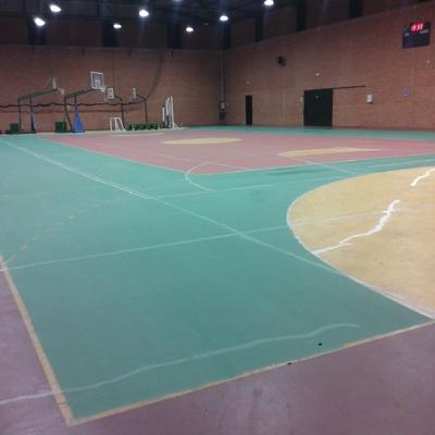 pista deportiva.