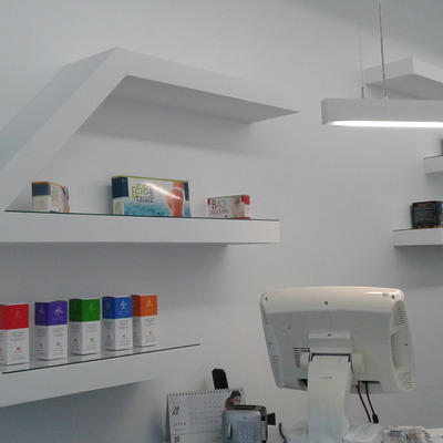 Interior, reforma peluquería Zabalgana, Vitoria