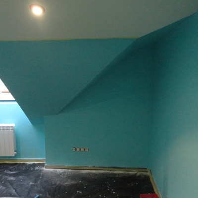 Pintado habitación Dúplex
