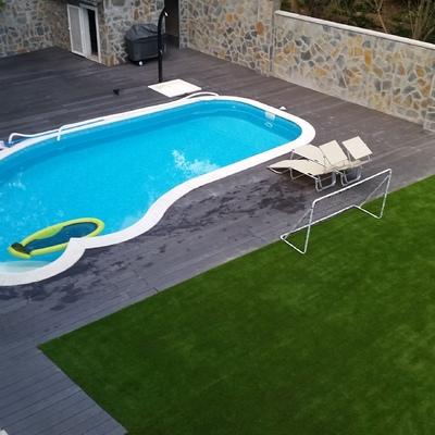 Instalación césped artificial en Sitges