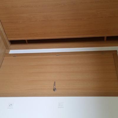 Puerta de paso y armario