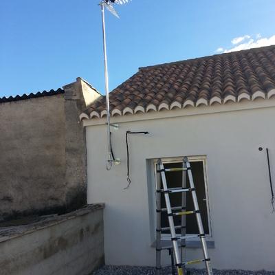 Instalación antena Televisión