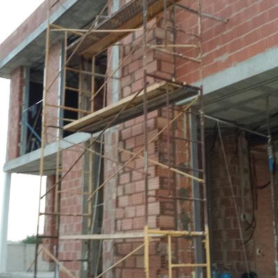 Construcción de vivienda unifamiliar modelo arena