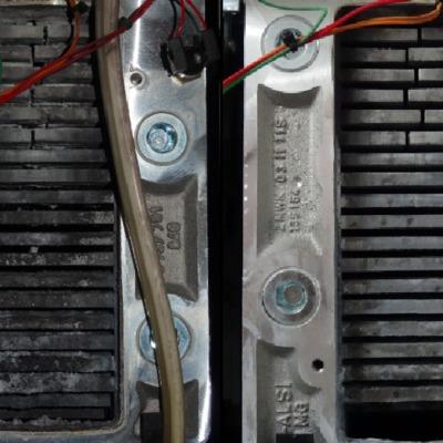 Caldera Junkers bloque de calor