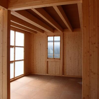 Forjado interior de madera