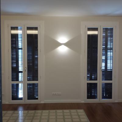 Balconeras de PVC acústicas