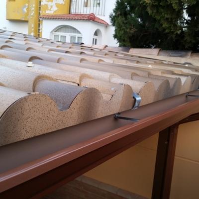 panel sandwuich imitación teja
