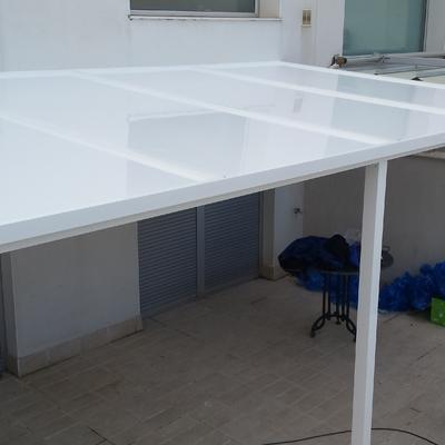 techo aluminio