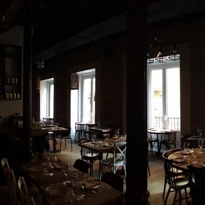 Restaurante Serafina. C/ Espoz y Mina, 4 - MADRID