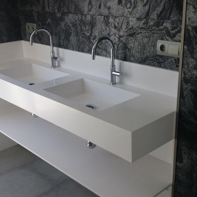 Encimera lavabo baño