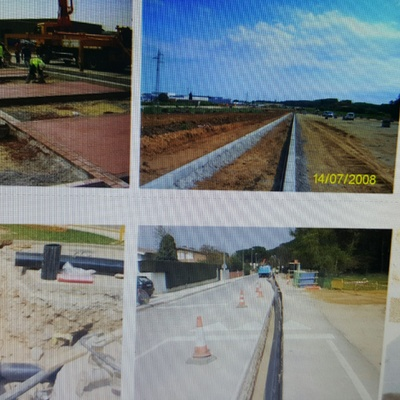 Autopista AP-7 Tramo Macanet de la Selva a Fornells    Autovía de Sarria de Ter N-II (Girona)