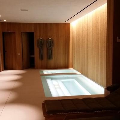 zona wellness, spa y pileta agua fria