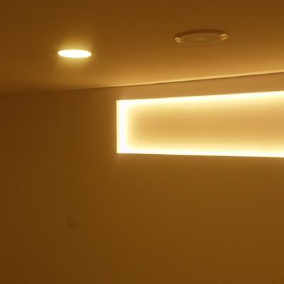 Cambio de luz indirecta