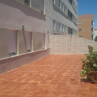 alicatado de terraza