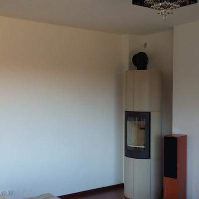 el imagen del salón antes de comenzar la pintura